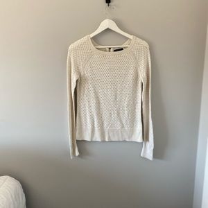 White American Eagle Long Sleeve Knit Sweater - XS